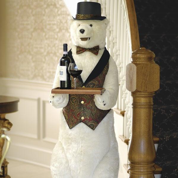 Life Sized Polar Bear Butler