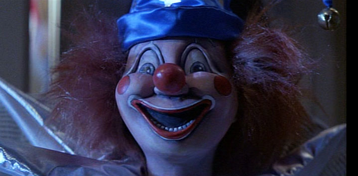 Lifesize poltergeist clown replica the green head for Killer clown movie