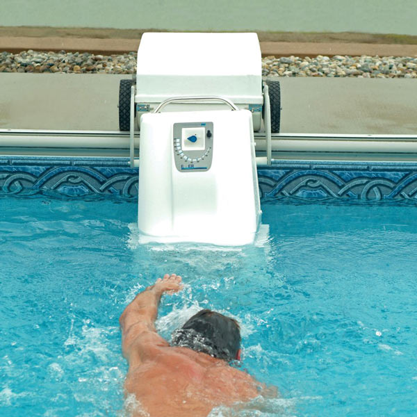 Pool Treadmill Portable Swim Current Generator The Green Head