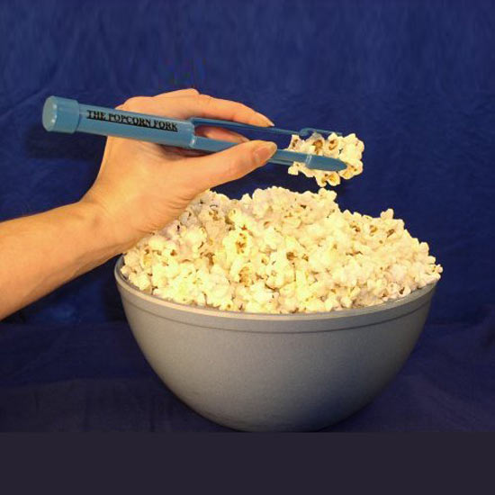 Popcorn Fork With A Built In Salt Shaker