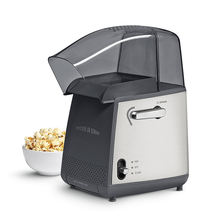 Two Small Appliances ~ Popcorn on demand hot air popper the green head