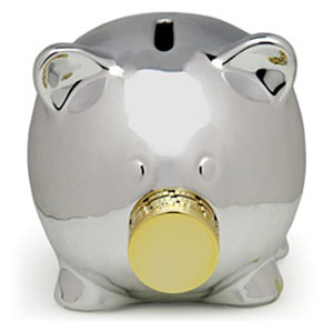 Pork Knox Combination Lock Piggy Bank The Green Head