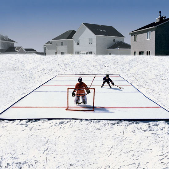 Ice Nu0027 Go   Portable Backyard Ice Skating Rink