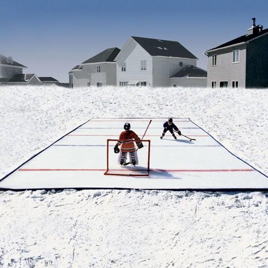 Beau Ice Nu0027 Go   Portable Backyard Ice Skating Rink