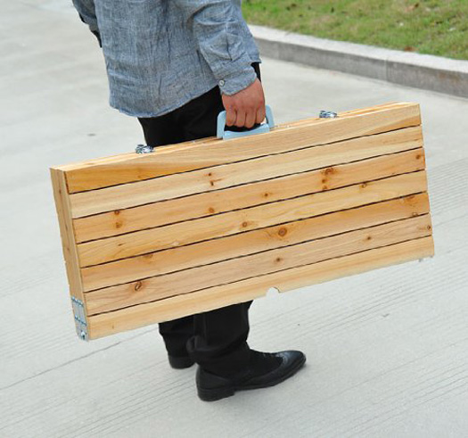 Portable Suitcase Picnic Table