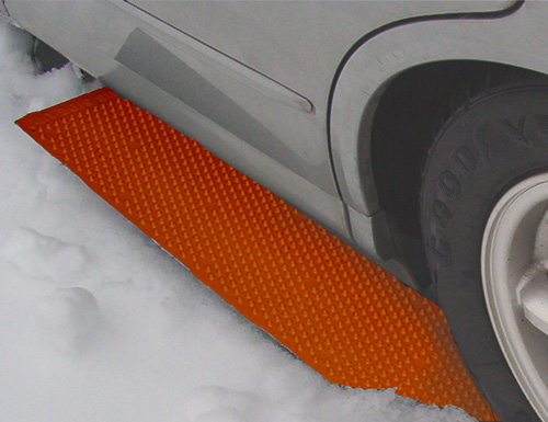 Snow Melting Mats >> Portable Tow Truck - Emergency Tire Traction Mats - The ...