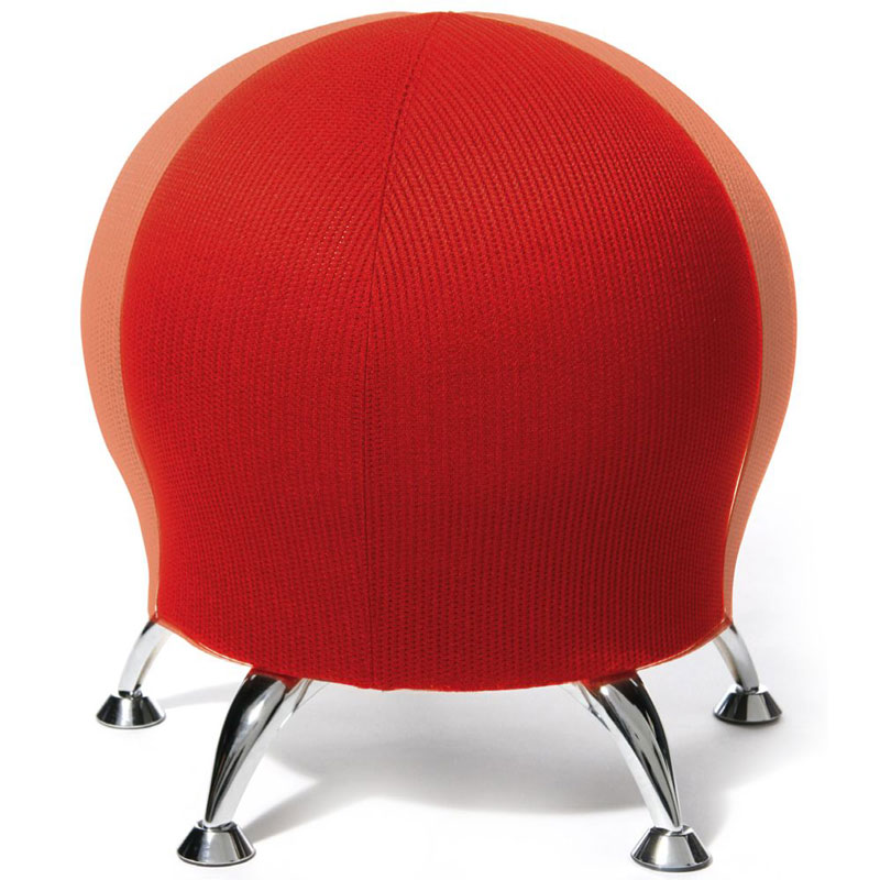 posture improving exercise ball chair - the green head