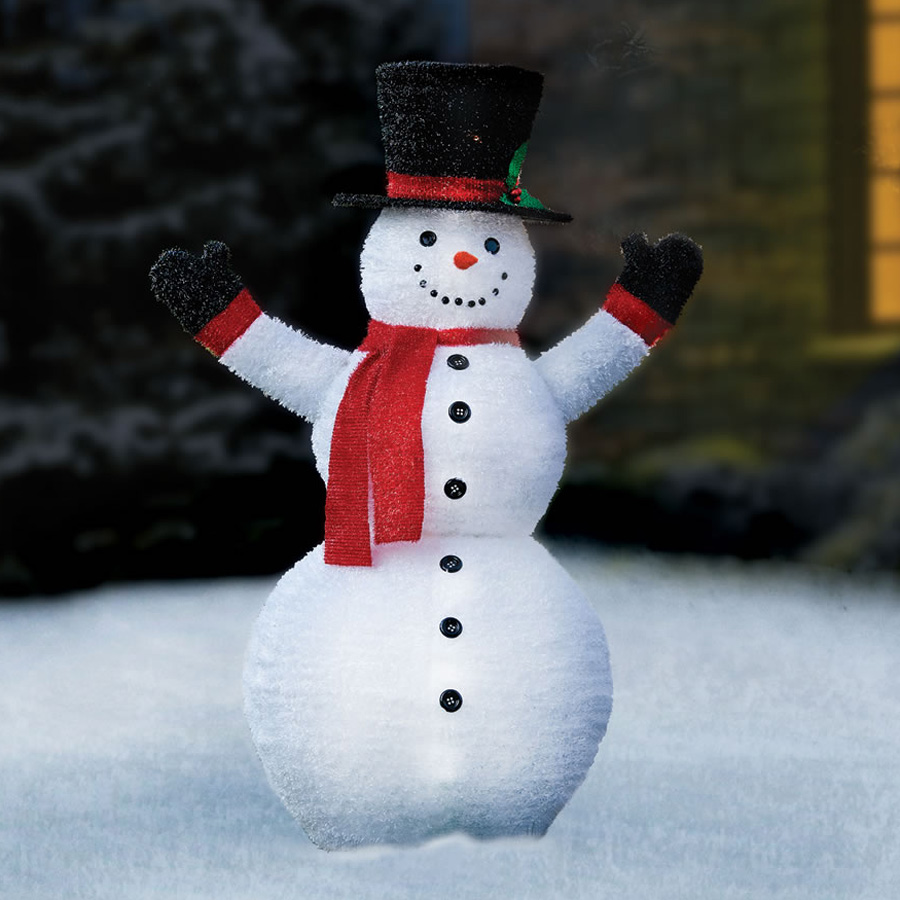 Pre lit pop up snowman the green head pre lit pop up snowman mozeypictures Choice Image