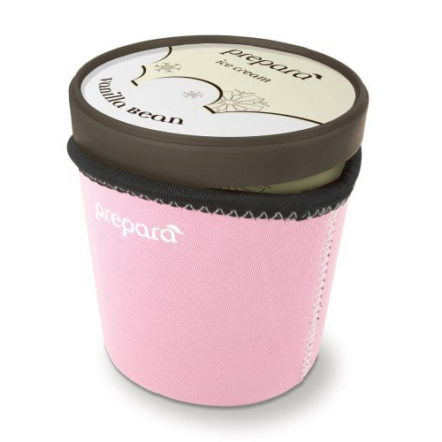 Fits snugly over pints of ice cream; Ensures hands stay warm and ice cream