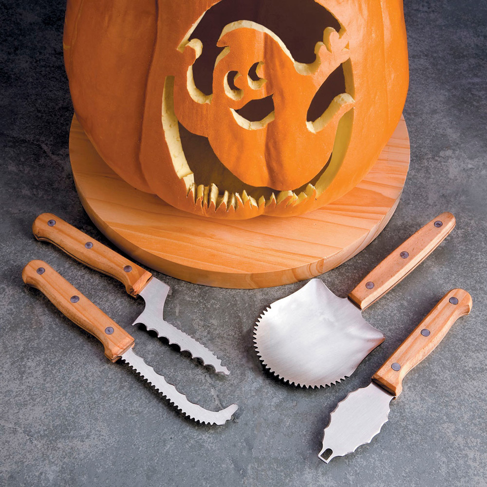 Professional pumpkin carving tools the green head