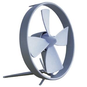 Propello Cageless Rubber Bladed Desktop Fan