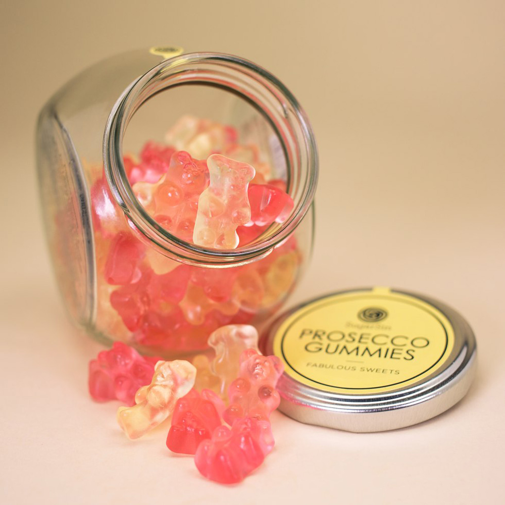 Prosecco Flavored Gummy Bears