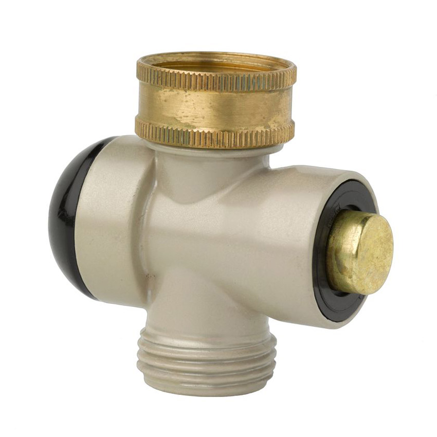 Push-Button Outdoor Faucet Adapters - The Green Head