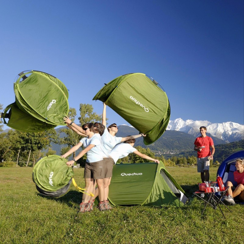 quechua 2 seconds pop up tent. Black Bedroom Furniture Sets. Home Design Ideas