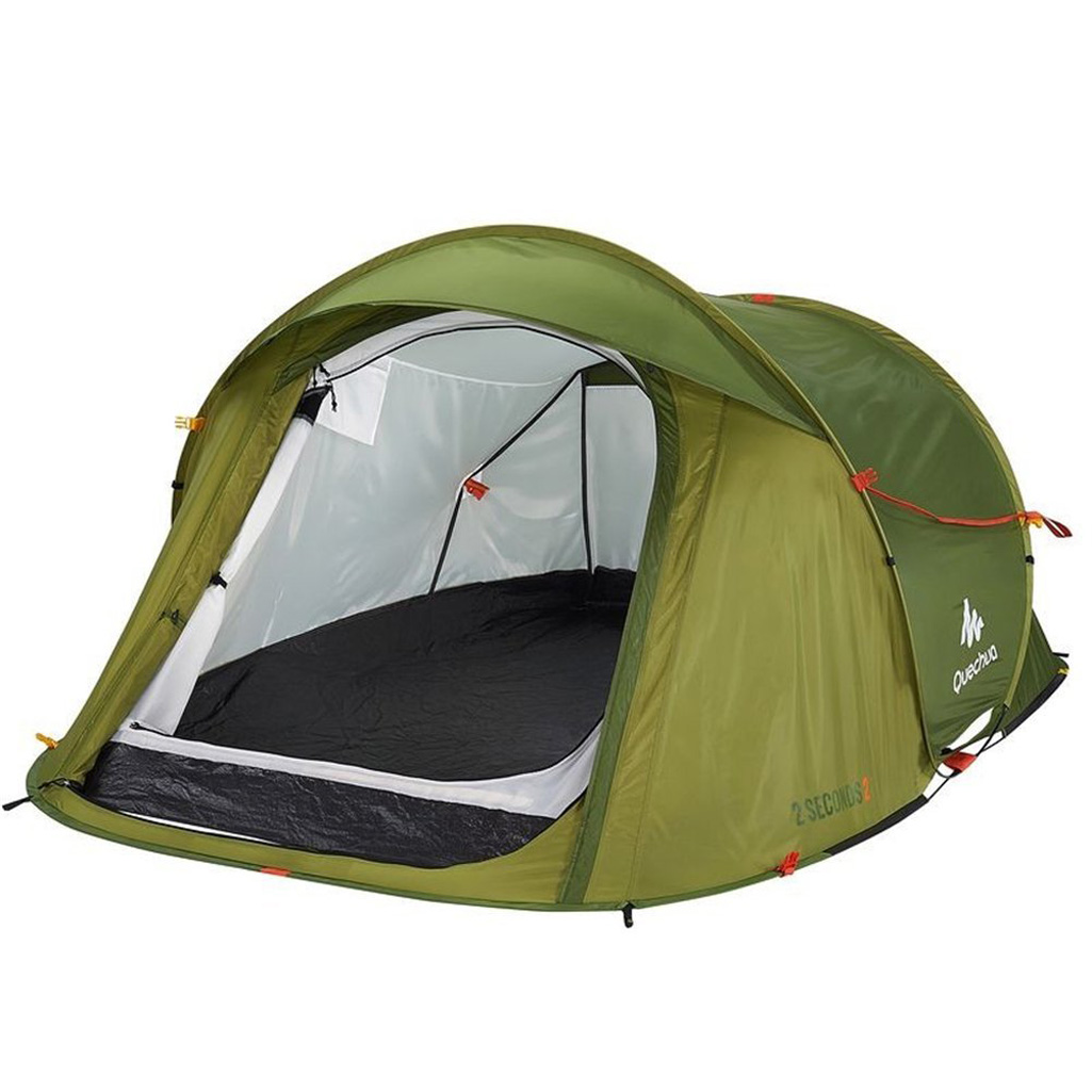 quechua 2 seconds pop up tent the green head. Black Bedroom Furniture Sets. Home Design Ideas