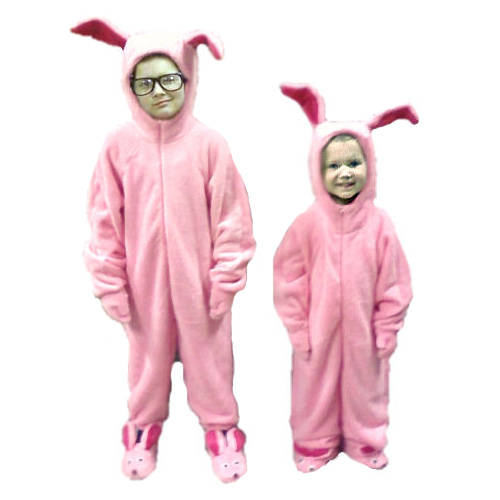 Ralphie's Bunny Suit Pajamas from Aunt Clara in A Christmas Story ...