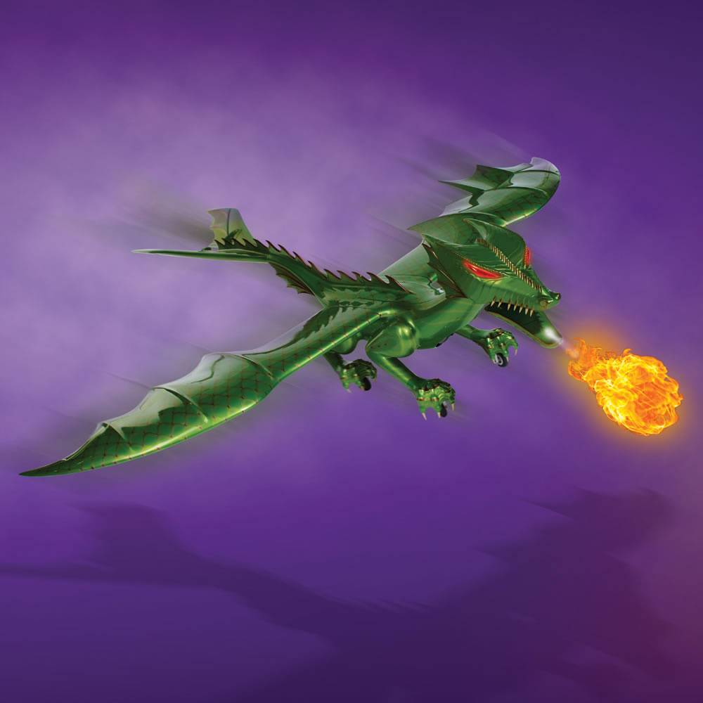 Flying Dragon: R/C Jet-Powered Fire Breathing Dragon