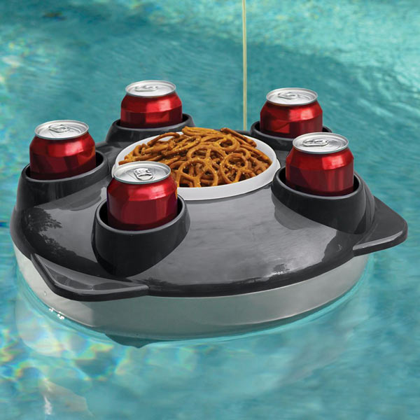Remote Controlled Floating Pool Tray The Green Head