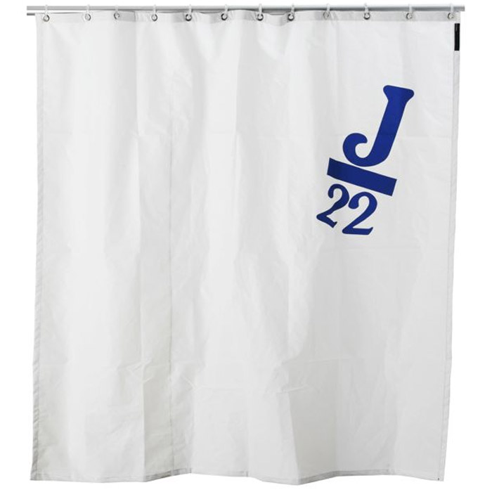 real boat sail shower curtains - the green head