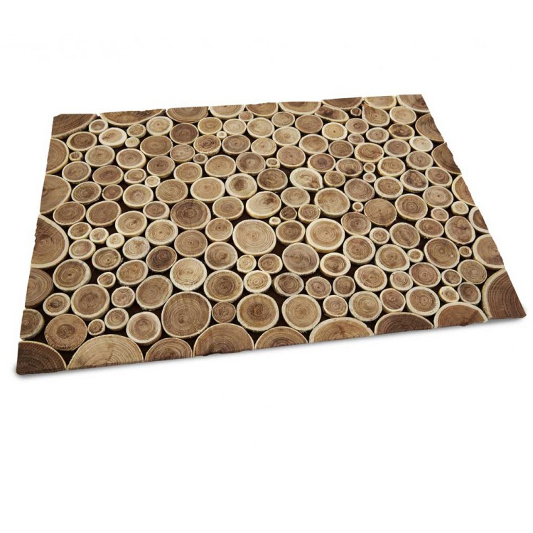 reclaimed teak branch table runner placemats and