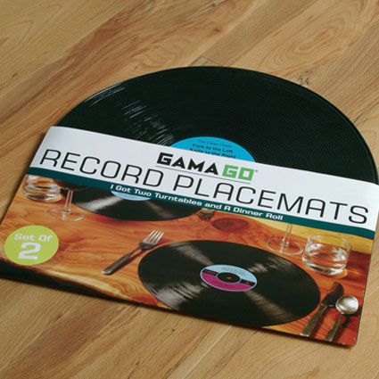 Record Placemats The Green Head