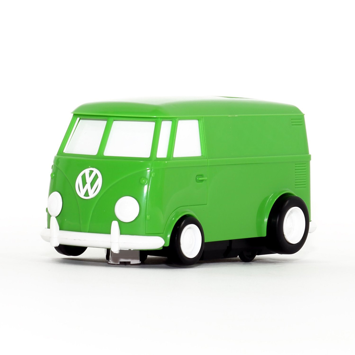Record Runner Vw Bus Portable Self Contained Vinyl Record Player The Green Head