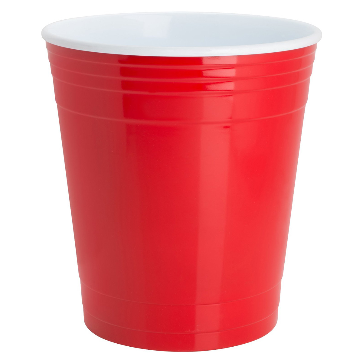 Hot Coffee Cup >> Red Party Cup Waste Basket - The Green Head
