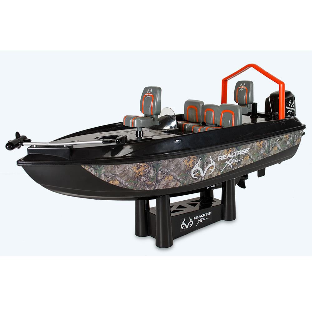 Remote Control Boats : Remote control fish catching boat the green head