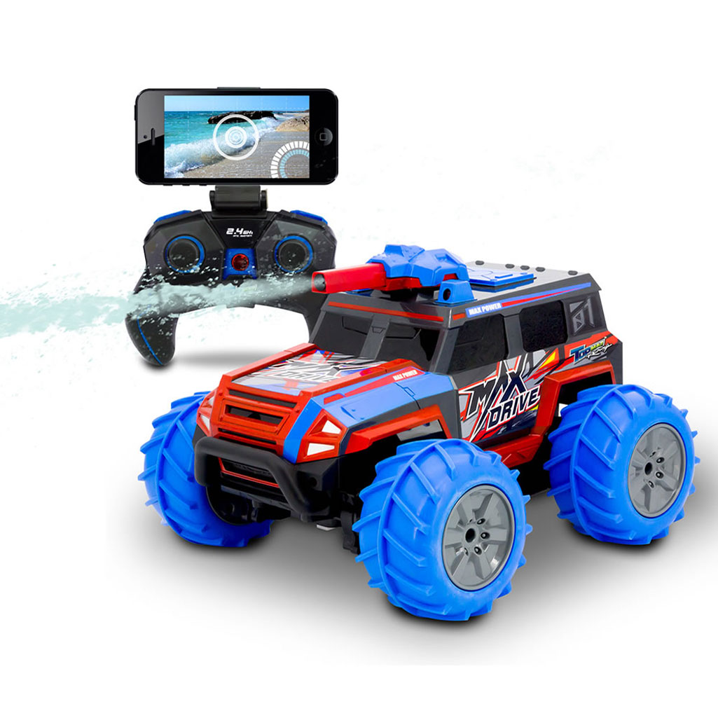 Remote Control Truck w/ Live Video Streaming and Squirting ...