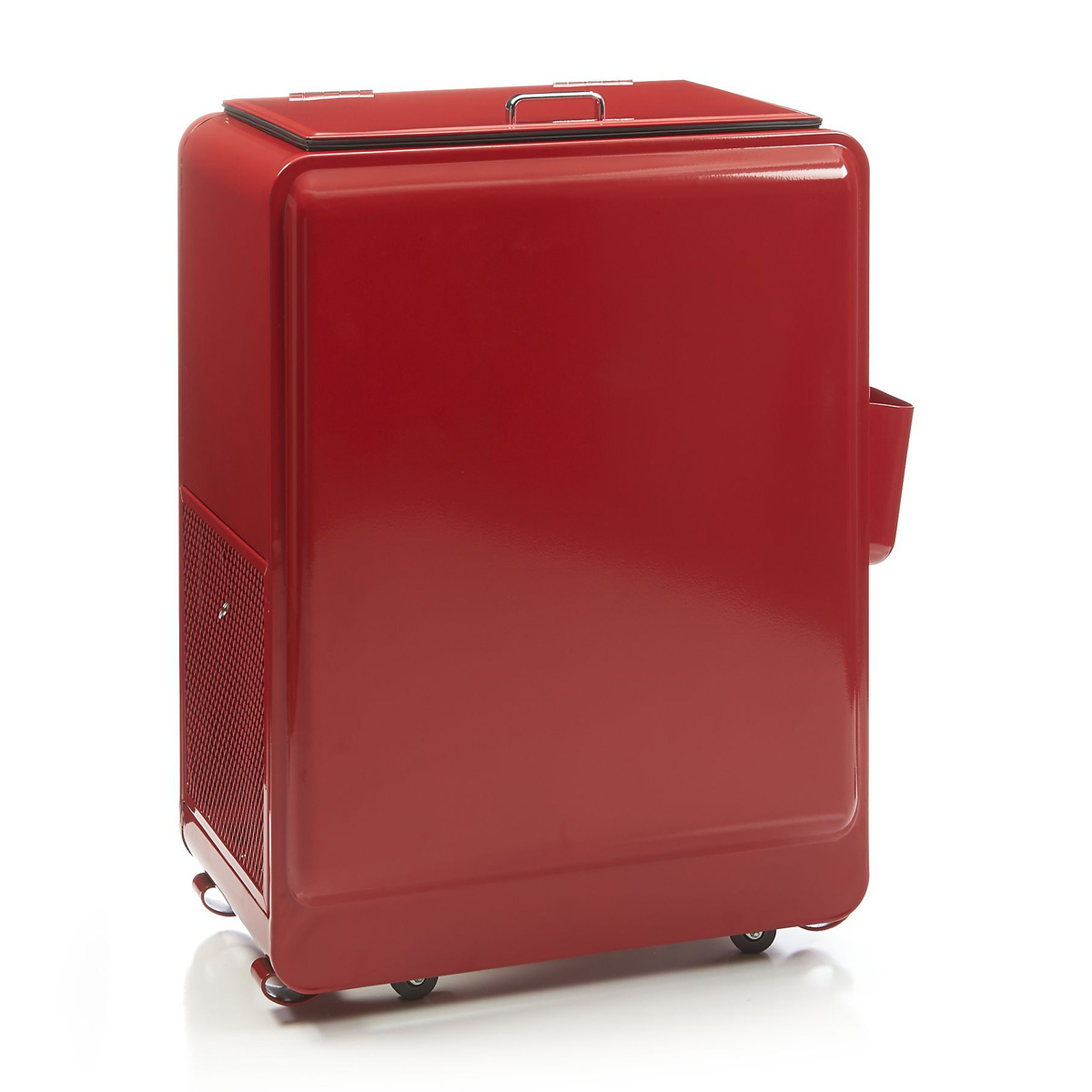 Retro Red Rolling Drink Cooler The Green Head