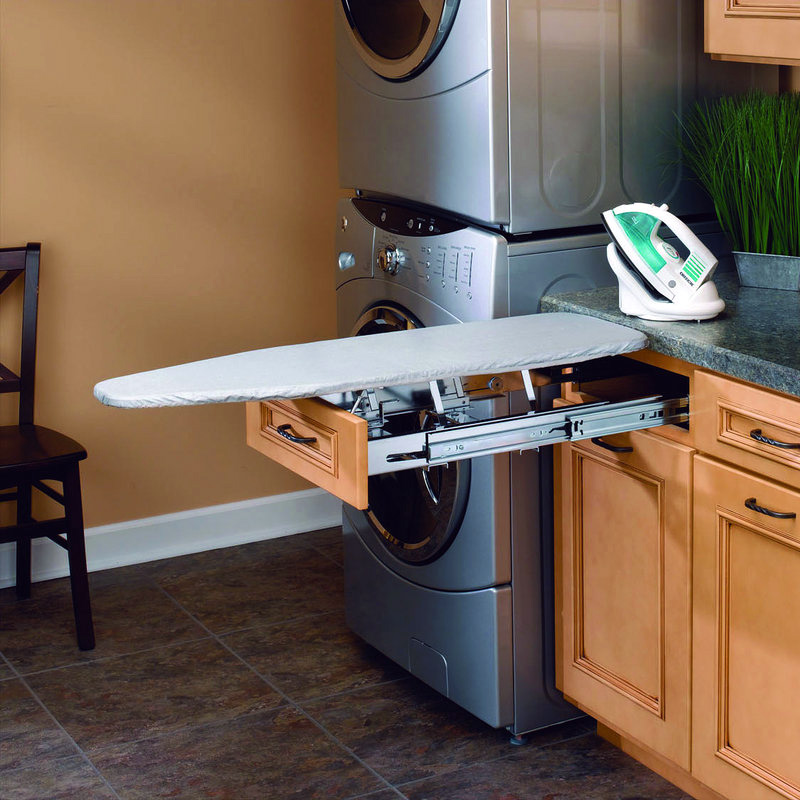rev a shelf pull out ironing board the green head. Black Bedroom Furniture Sets. Home Design Ideas