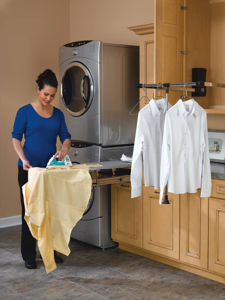 Image Result For Laundry Room Hanging Rod