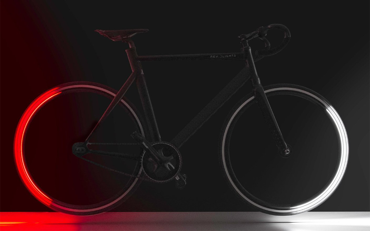 RevoLights Skyline - Bicycle Lighting System - The Green Head