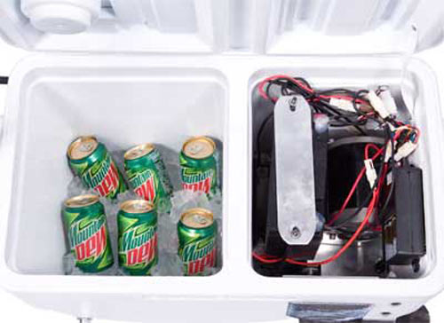 Cruzin Cooler Rideable Electric Beverage Cooler The