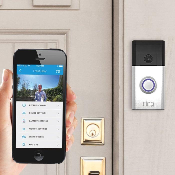 Ring Video Smart Doorbell The Green Head