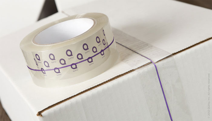 Rip Cord Packaging Tape With Easy Open Pull String