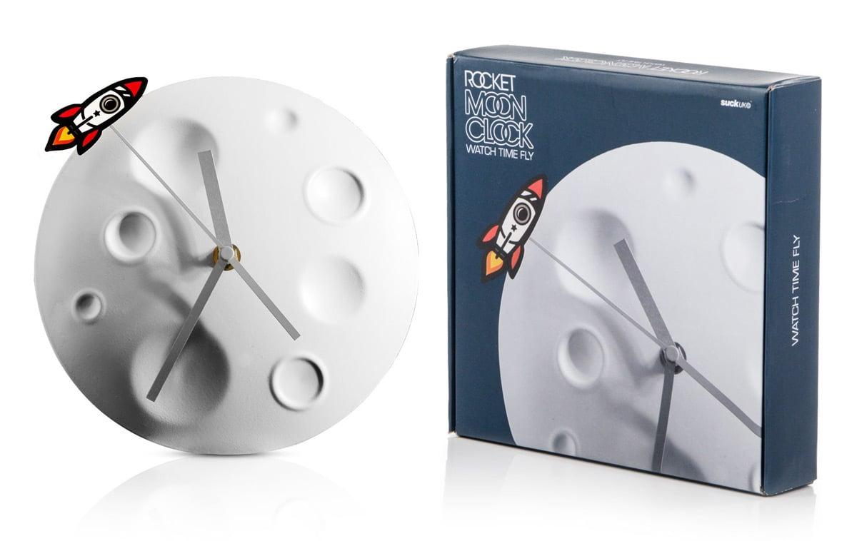 Rocket Moon Clock The Green Head