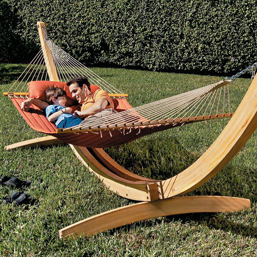 Roman Arc Cypress Hammock Stands The Green Head