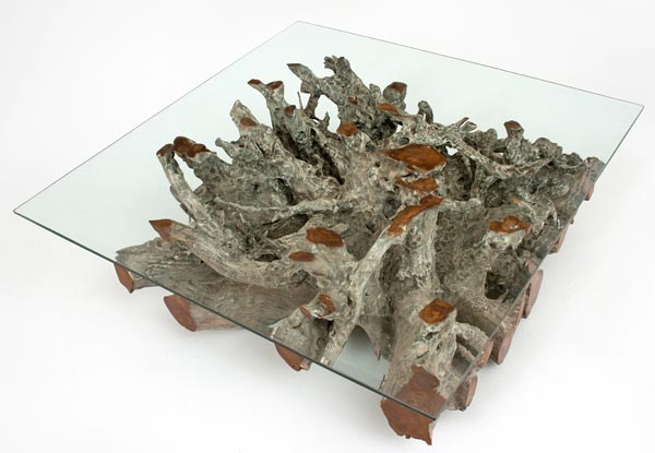Incredible Handcrafted Tree Root Coffee Table Download Free Architecture Designs Scobabritishbridgeorg
