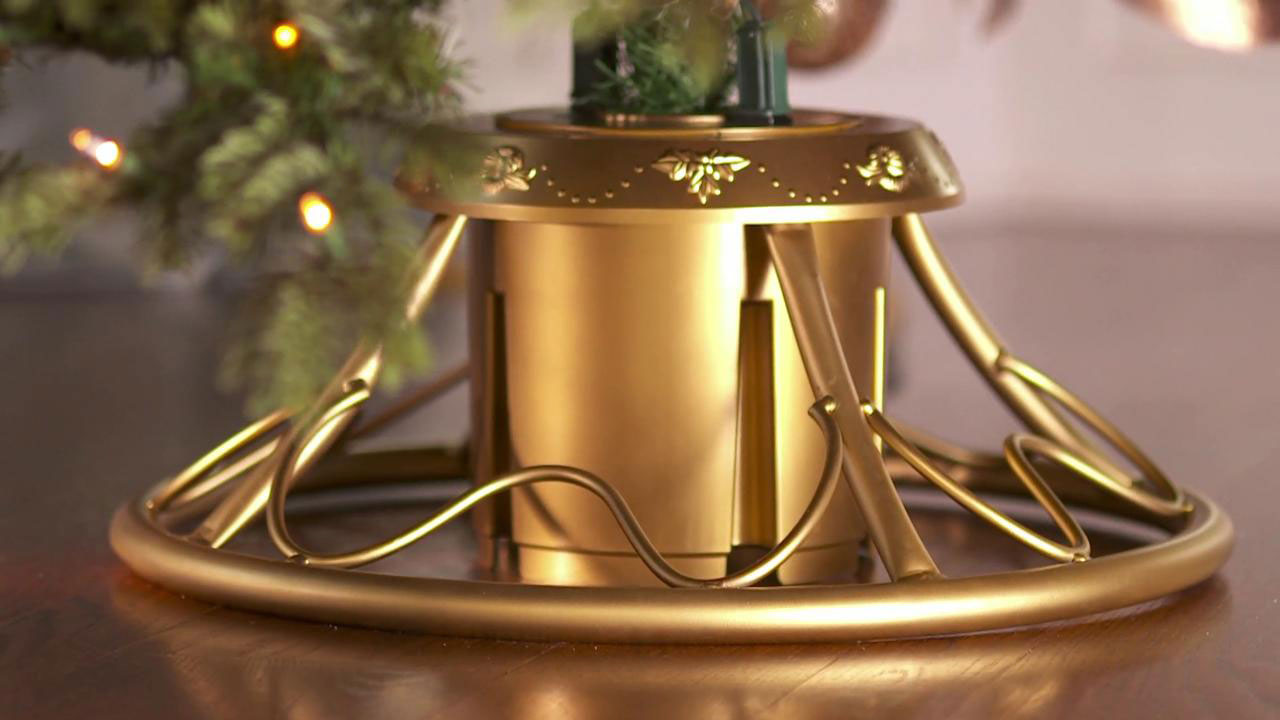 Rotating Christmas Tree Stand - The Green Head