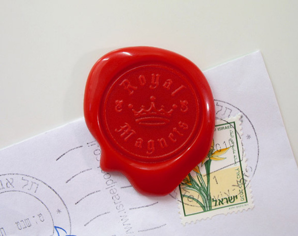 Royal Wax Seal Magnets The Green Head