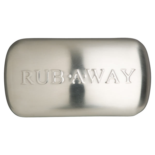 Rub Away Stainless Steel Odor Removing Rubbing Bar The
