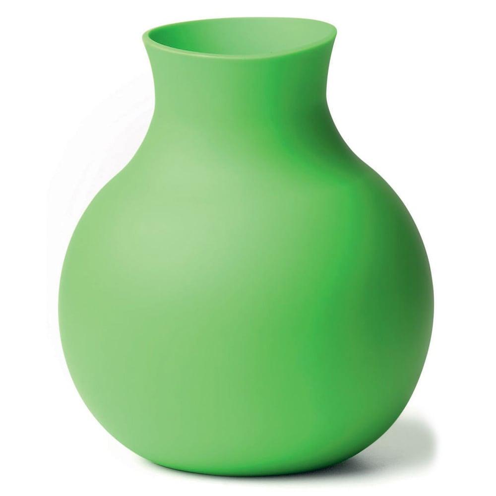 Unbreakable Rubber Vase The Green Head