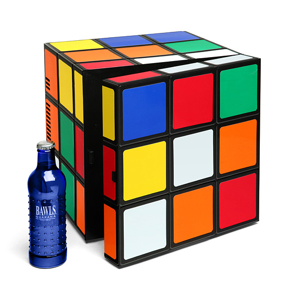 Rubik S Cube Cold Warm Mini Fridge The Green Head