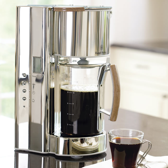 russell hobbs glass coffee maker 1 French Press Coffee Maker Stainless Steel