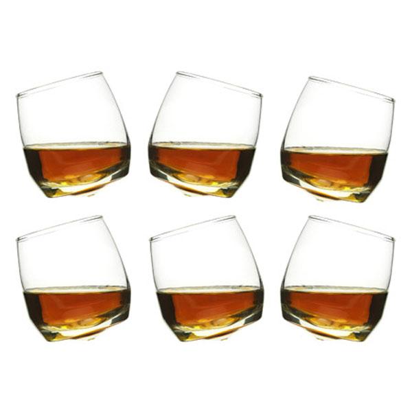 sagaform rocking whiskey glasses the green head. Black Bedroom Furniture Sets. Home Design Ideas