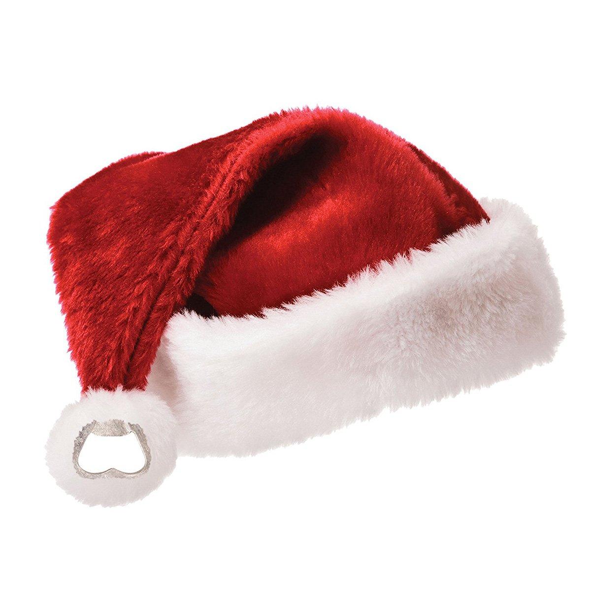 santa hat bottle opener the green head. Black Bedroom Furniture Sets. Home Design Ideas