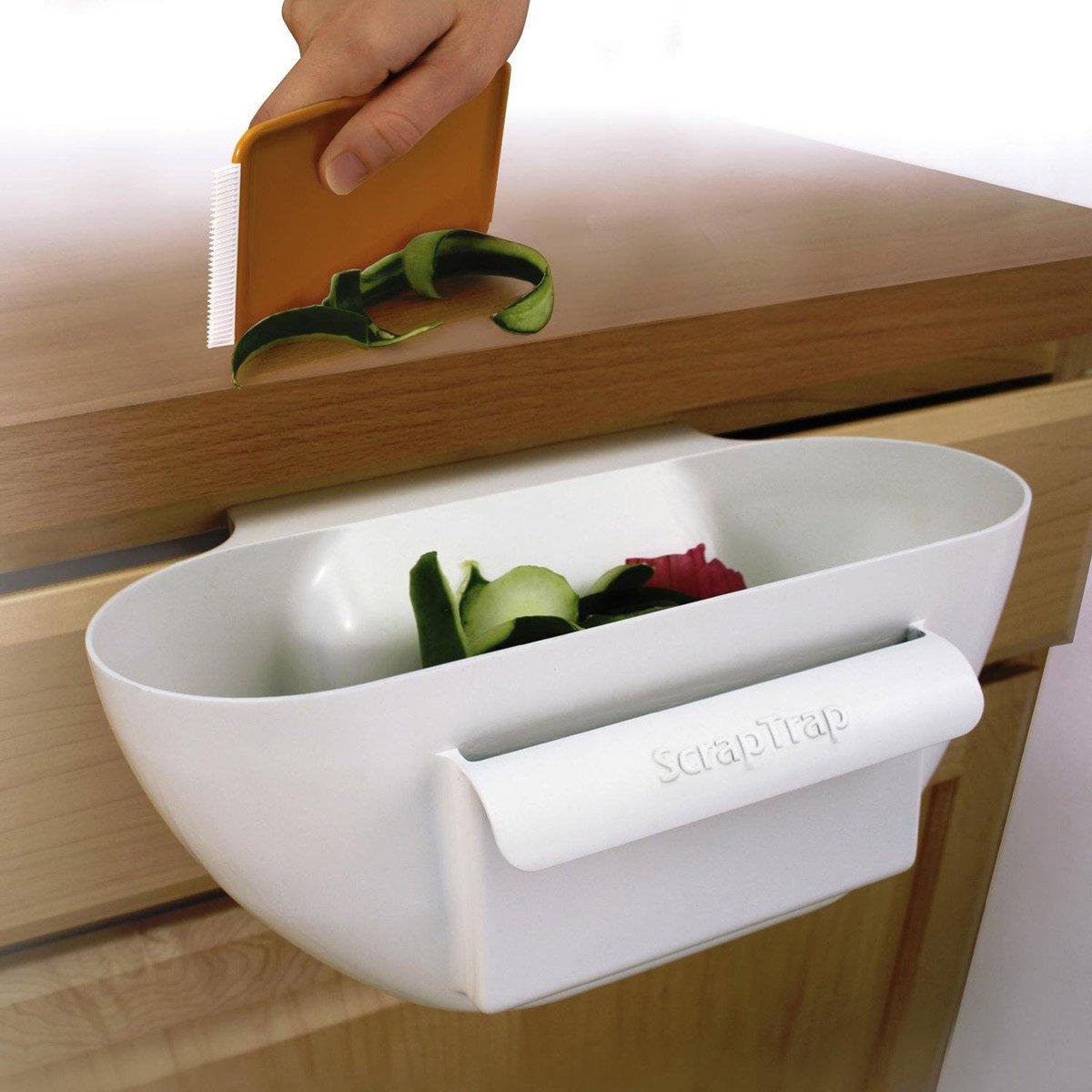 Scrap Trap Handy Kitchen Counter Scrap Bowl The Green Head