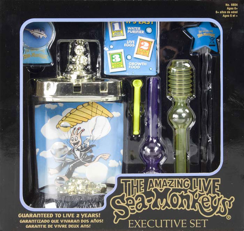 Keychains For Kids >> Amazing Live Sea-Monkeys - Executive Set - The Green Head