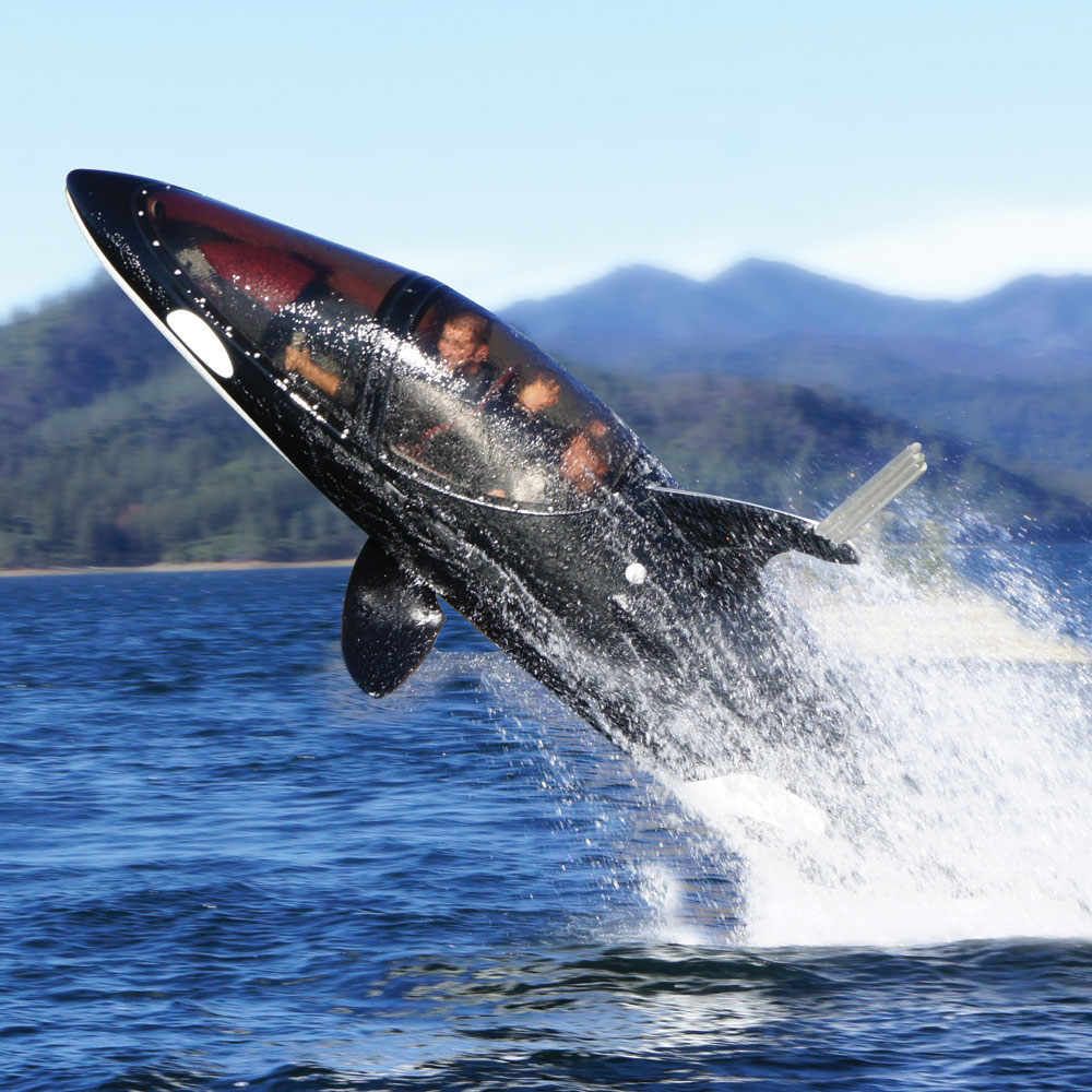Seabreacher Y Killer Whale Personal Submarine The